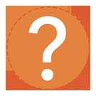 SA Orange Question Mark